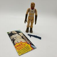 Vintage 1980 Star Wars Bossk Complete with Authentic Original Rifle Kenner