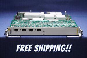 Cisco A9K-4T-L Expansion Module 4 x 10 Gigabit Ports ASR9000 XFP