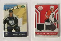2013-14 Panini Totally Certified TC-JLC John LeClair  black totally certified je