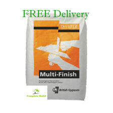 British Gypsum Thistle Multi Finish Plaster 25kg x 5 Bags - FREE Delivery