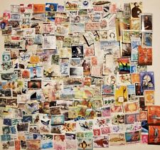 World lot of 1000 worldwide stamps,timbres off paper FREE Shipping #49
