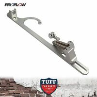 Proflow Billet Silver Throttle Cable Return Spring Bracket Holley 4150 Carby New