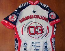 Descente Pan Mass Challenge Boston Red Sox Baseball Cycling Jersey M ~New~