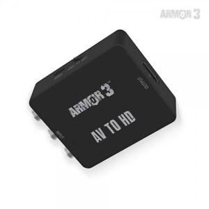 Armor3 Universal AV to HD Converter Box Adapter for HDTV and Monitor