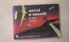 ALBUM AEREI E MISSILI DI TUTTI I TEMPI - Edizioni Panini - 173/200 FIGURINE