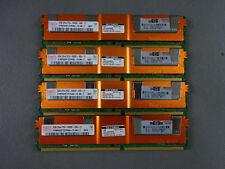 4x 2GB 8GB RAM PC2-5300F 667 Mhz ECC Fully Buffered DDR2 FB DIMM