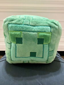 "Authentic Jinx Minecraft 9.5"" Slime Plush"