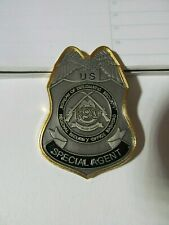 US State Dept Diplomatic Security Service Badge Shape Challenge Coin (Lot C)