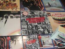 ROLLING STONES  LET IT BLEED 6 JAPAN OBI RARE 10 CDS + 11 VINYL LPS COMBINATION