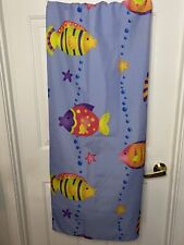 New listing Shower Curtain Fish Bubbles Cloth Child