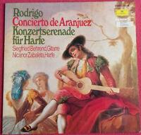 Rodrigo / Concierto de Aranjuez / Konzertserenade für Harfe LP Vinyl