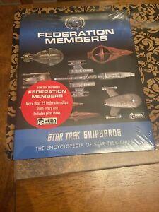 New Star Trek Shipyards Encyclopedia Of Ships Federation Members By Ben Robinson