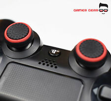 2 X COPERTURA IN GOMMA Thumb Stick Grip ps3 ps4 Xbox One Controller Analogico-B&R Stripe