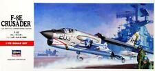 F-8 E CRUSADER (U.S. NAVY, MARINES & FRENCH NAVY MARKINGS) #C9  1/72 HASEGAWA