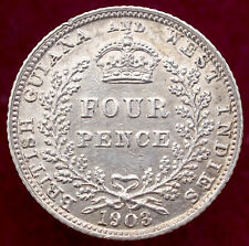 More details for british guiana fourpence 1903 (h1109)