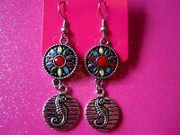 Sea Horse Dangle Earrings