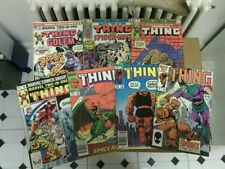 The Thing comic book lot!(Marvel,1980s) IT'S CLOBBERIN' TIME!