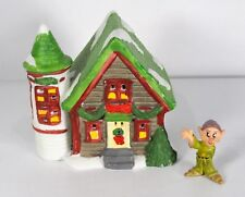 "Lotus Viewing Silo Christmas Village House  Approx 4"" x 4"" x 4""  Very Nice Shape"