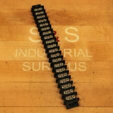 Cinch 20-140 Terminal Strip, 20 Position 16 Awg Double Row Barrier Type - USED