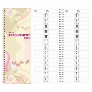 Salon Appointment Book 2-Column 150 Pages