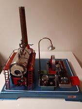 Dampfmaschine Wilesco D24 mit Lampe