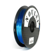 Shiny PLA Filament Silky Sapphire Blue 1.75mm, Noulei 3D Printer Material 500g