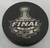 2012 STANLEY CUP FINAL NHL OFFICIAL INGLASCO HOCKEY PUCK MADE IN SLOVAKIA