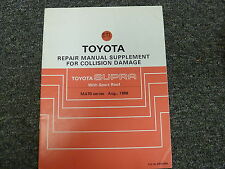 1986 1987 1988 1989 Toyota Supra Sport Roof Body Collision Service Repair Manual