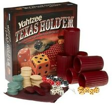 Parker Brothers Yahtzee Texas Holdem Poker Game Dice Game NEW SEALED