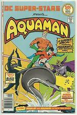 Dc Super-Stars 7 Aquaman Black Manta Fn+ Fine+ Giant Dc bronze age nice copy
