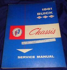 AM046 1961 Buick LeSabre Invicta Electra Chassis Service Manual