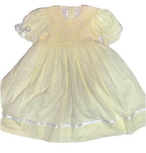 STRASBURG SMOCKED GIRLS DRESS 2Y