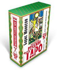 Neue Karten Deck Magischer russischer Tarot 78 Sammlung Rare Folklore Monosov