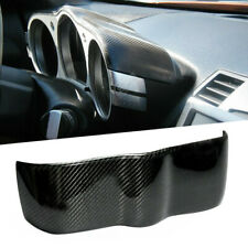 Styling Carbon Fiber Style Dial Dash Cover Trim Panel Fit for Nissan 350Z 06-09