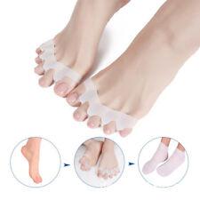 2pcs Gel Straightener Separator Toe Bunion Spreader Corrector Pain Relief #LA3