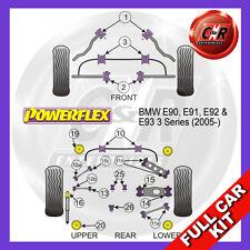 BMW E90 3 Series (2005-2013) Rear Subframe Bushes Powerflex Complete Bush Kit