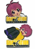 Gravitation Logo and Shuichis Pins