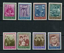 S496 Ajman 1964 President Kennedy 8v. Mnh