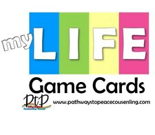 My Life Game Cards - Turn the Game of Life into a Counseling Game!