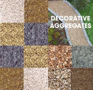 20KG Decorative Aggregates Stone Garden Landscaping Gravel Chippings Slate