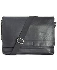 Kenneth Cole Reaction Men's Pebbled Messenger Bag- Brand New! 160 retail price!