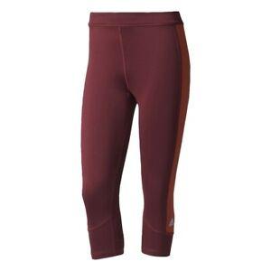 Adidas Techfit Climalite Capri Workout Leggings Womens L 16-18