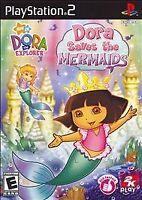 Dora the Explorer: Dora Saves the Mermaids (Sony PlayStation 2, 2008)  Fast PS2
