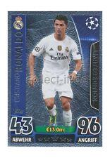 TOPPS Champions League - LE1 - Cristiano Ronaldo - Limited Edition Silber