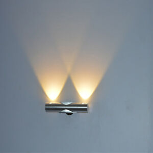 6W Up&Down LED Wall Light Corridor Sconce Lamp Lighting Warm Cool White
