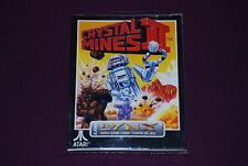 CRYSTAL MINES II 2 - Color Dreams/Atari - Jeu Réflexion Atari Lynx EUR