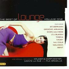 double / 2 CD ALBUM best of lounge - volume one 1 - ST GERMAIN  WALDECK BENT