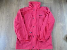REGATTA ISOTEX RED MENS JACKET WITH REMOVEABLE BLACK FLEECE SIZE LARGE