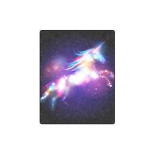 Soft Blanket Star Magic Unicorn Nebulas Blanket 40x50 IN Soft Bedding Home Decor