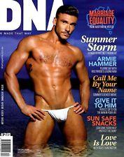 DNA Magazine #215 gay men Summer Storm YARI EMRAH LUCAS QUARESIMIN